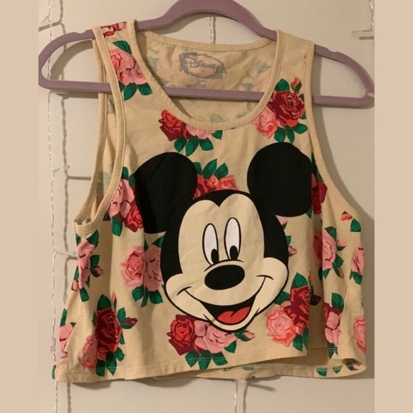 Disney (Forever21)   Cropped Tank Top